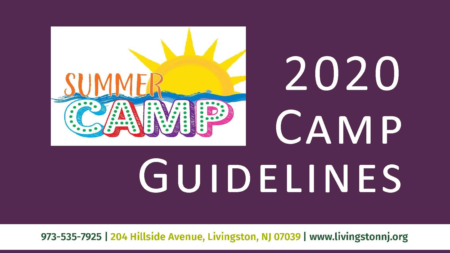 Camp guideline banner