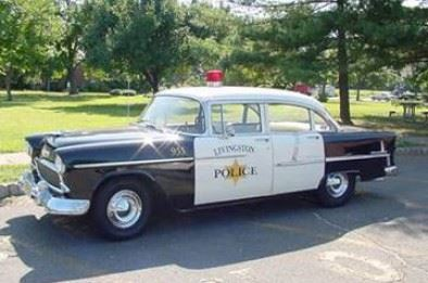 Historic patrol car