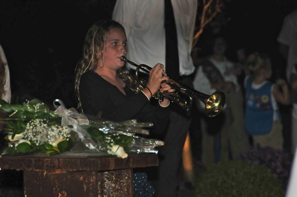 Trumpet Playing at Ceremony