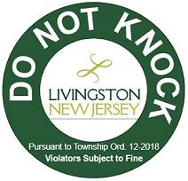 Do Not Knock Sticker Image