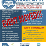 Flyer Describing the May 9, 2019, Celebration of Israel at 71 years