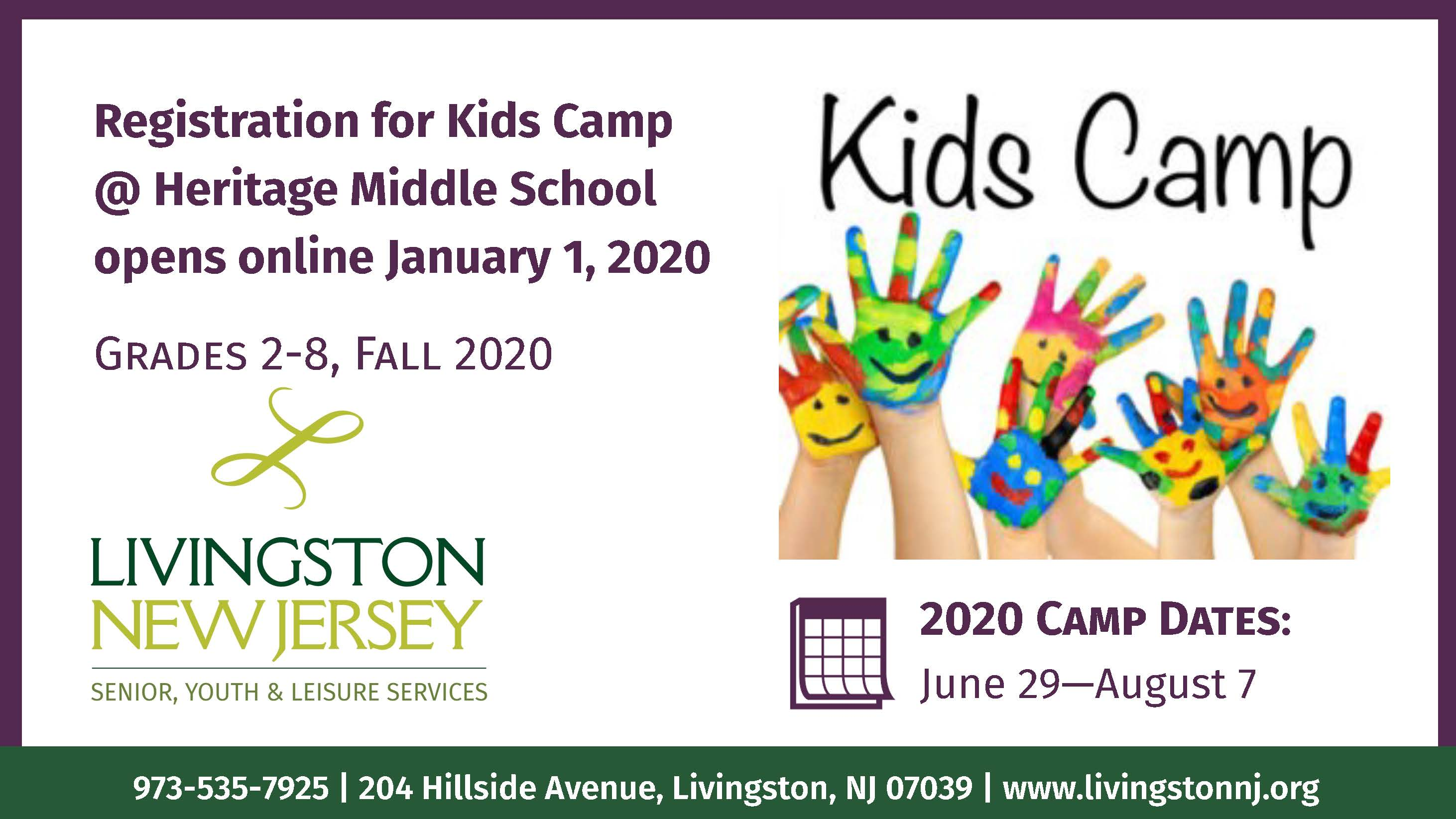 Kids Camp Jan 1