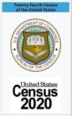 US Department of Commerce Census Bureau Logo