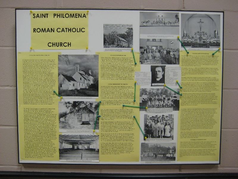 Saint Philomena Exhibit