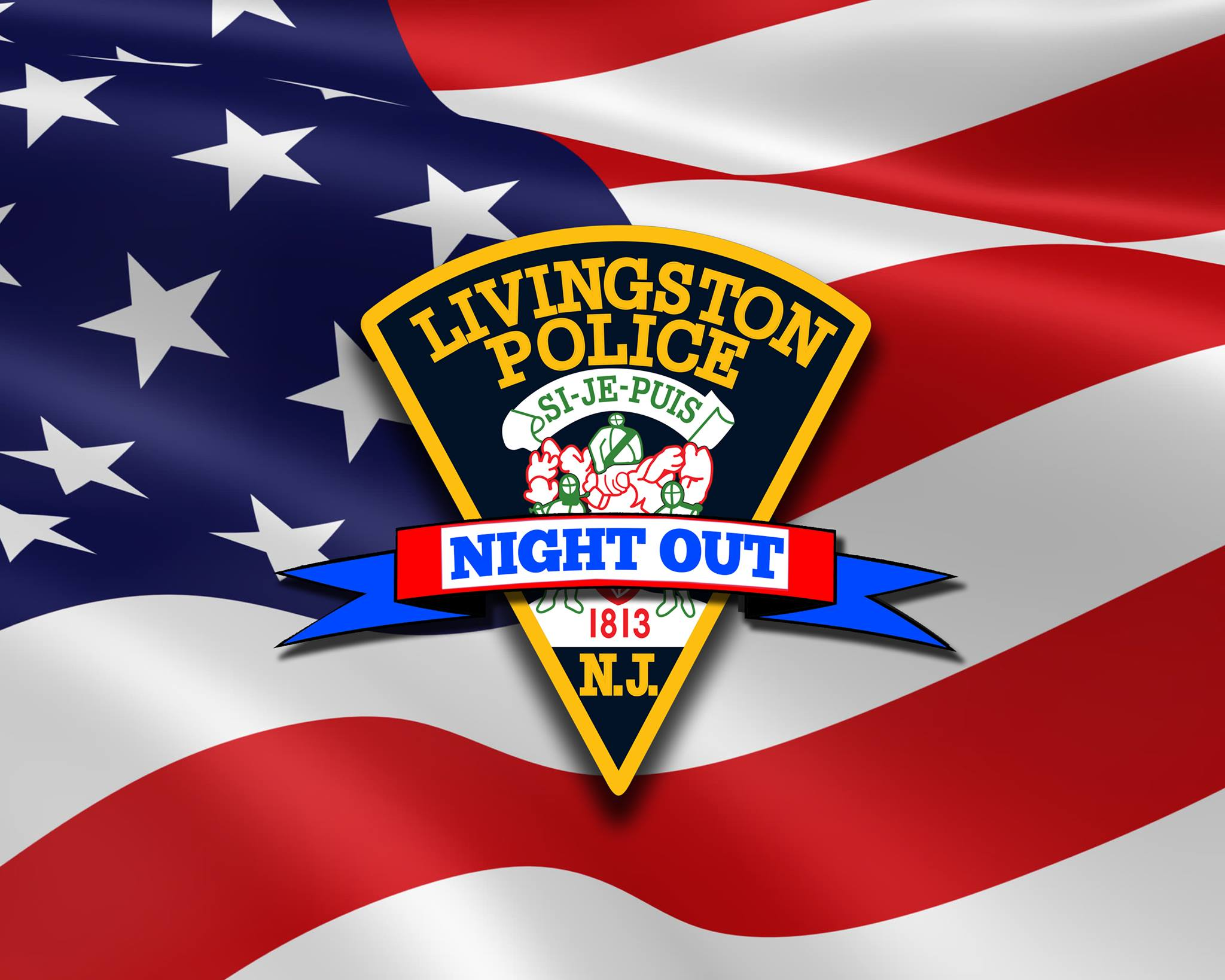 Livingston Police Department National Night Out Logo