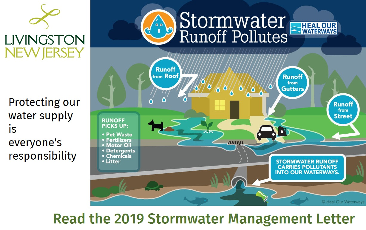 Stormwater Pollutes-Reminder to Read the 2019 Stormwater Management Letter