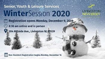 2020 Winter Session Registration for residents opens Monday, 12/9/19