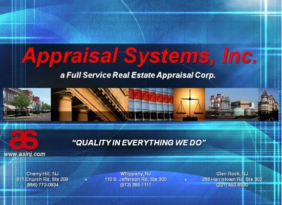 Appraisal Systems, Inc., a Full-Service Real Estate Appraisal Corp.